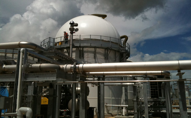 Biogas Storage Vessels and Industrial Covers