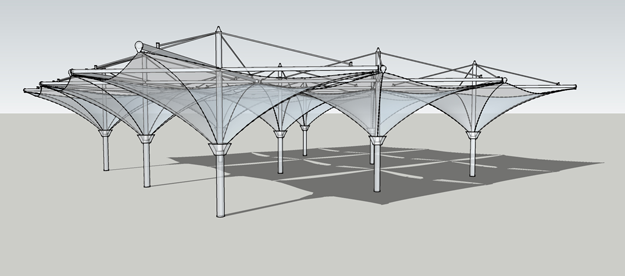 Tension Structures Design Services